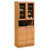 カリモク_食器棚