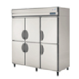 フクシマの縦型冷凍冷蔵庫