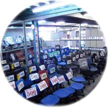 オフィスチェアなど事務機器