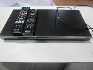 SONY32型液晶TV SONYブルーレイレコーダー 買取り行って来ました。