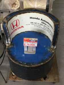 とても珍しいドラム缶チェアです!インテリアとしてもオシャレです!